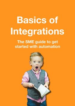 basics of integrations